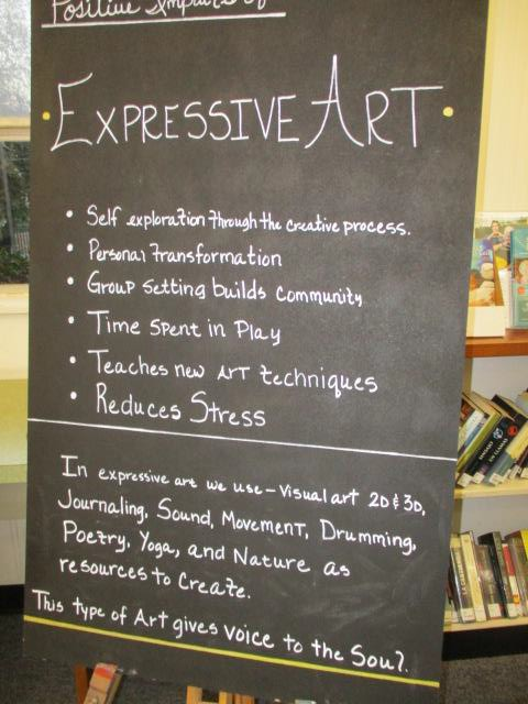 expressive_art Lakeside Library